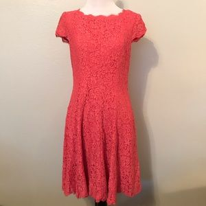Adrianna Papell Flowy Lace Tent Dress Size 10